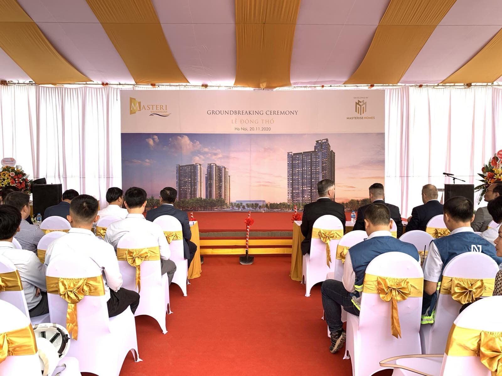 Lễ khởi công dự án Masteri Waterfront - Hình 4
