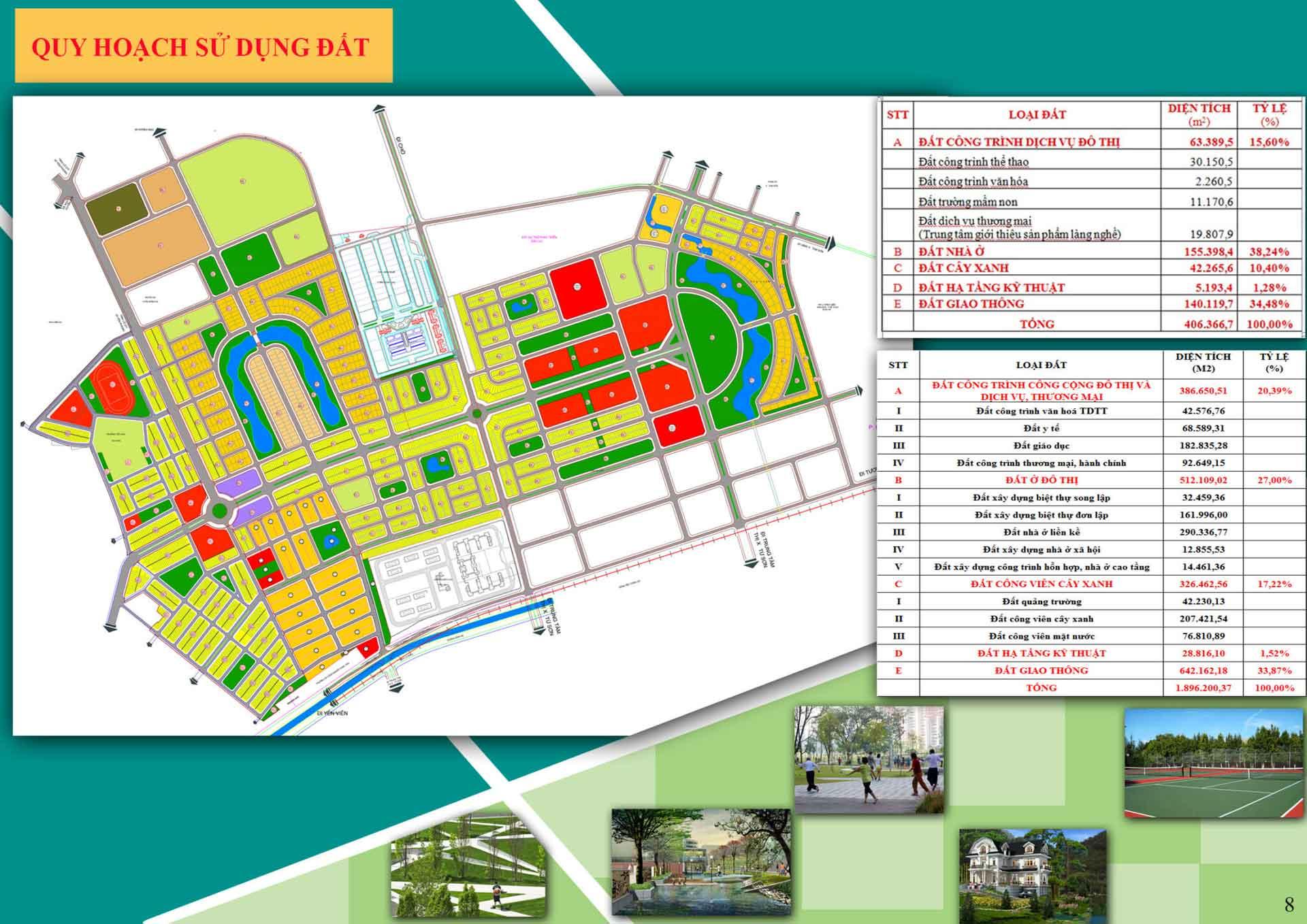 bản đồ quy hoạch Từ Sơn Garden City