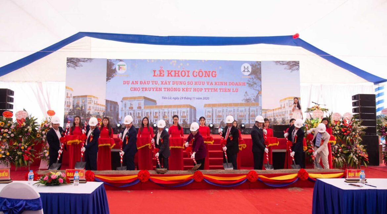 Lễ khởi công chợ Tiên Lữ
