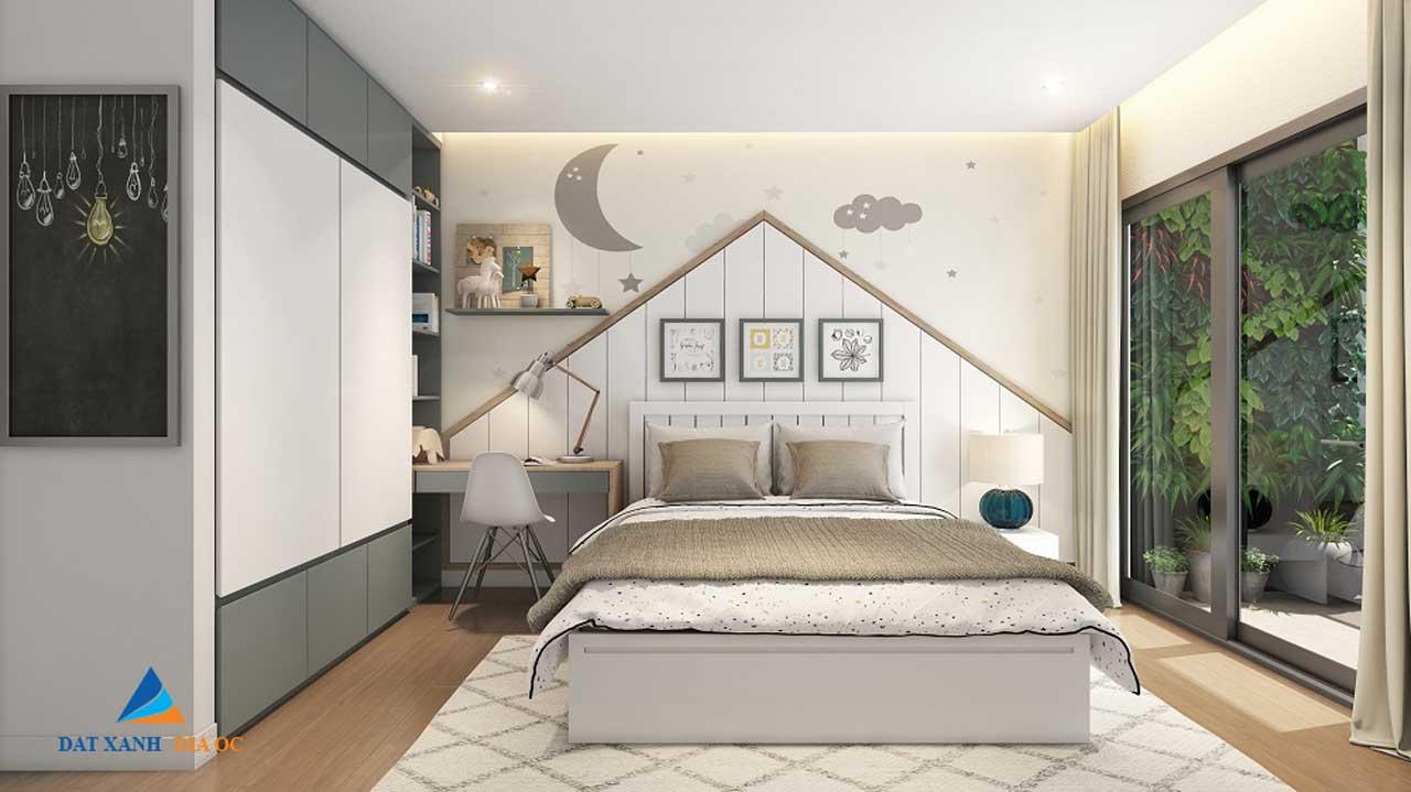 Phối cảnh phòng ngủ tại dự án