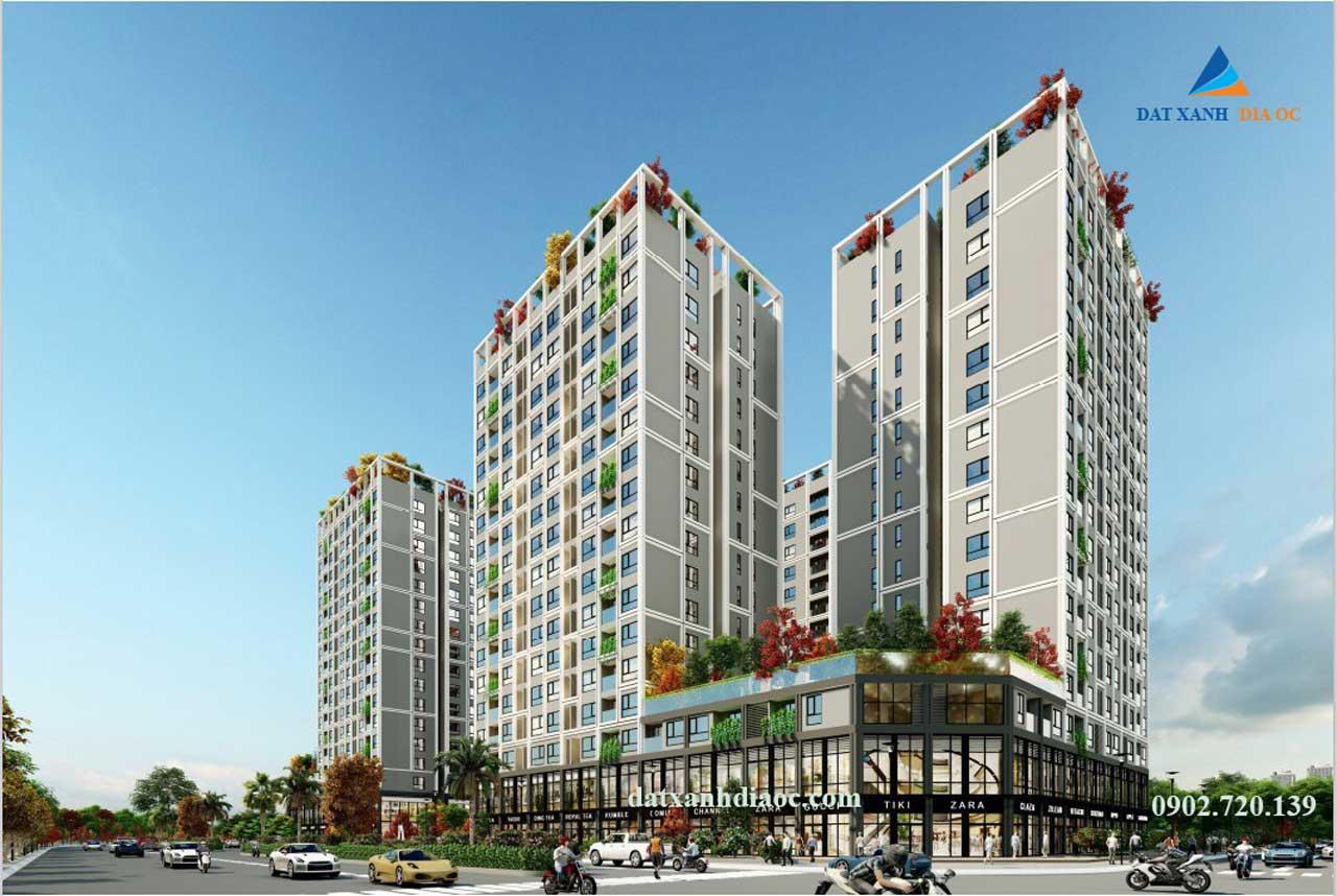 Phối cảnh dự án Eco Smart City Long Biên - hình 2