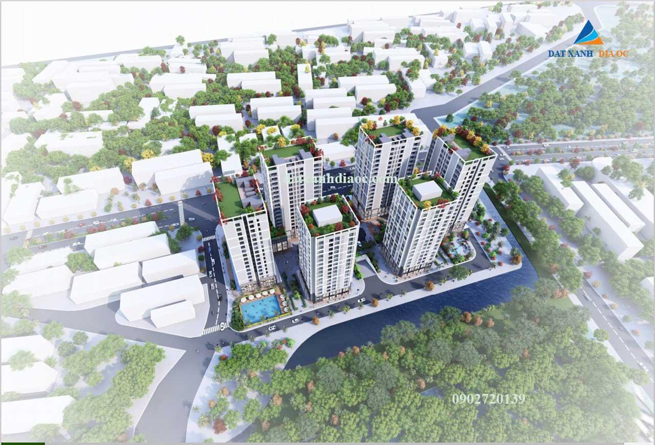 Phối cảnh dự án Eco Smart City Long Biên - hình 3