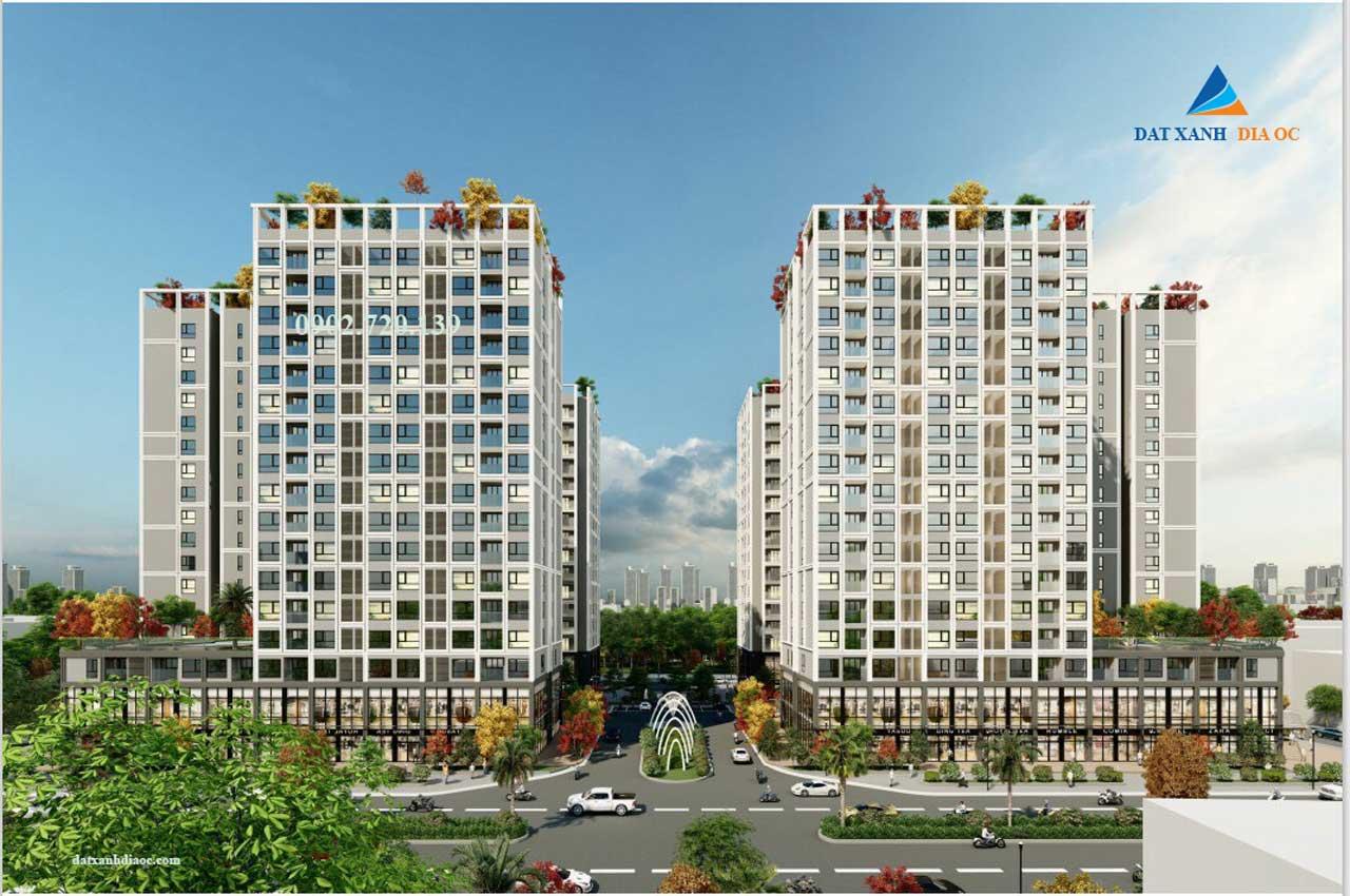 Phối cảnh dự án Eco Smart City Long Biên