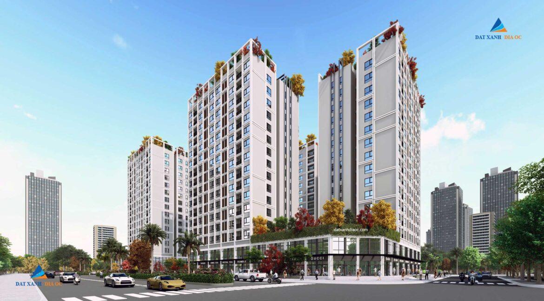 Phối cảnh Eco Smart City Long Biên