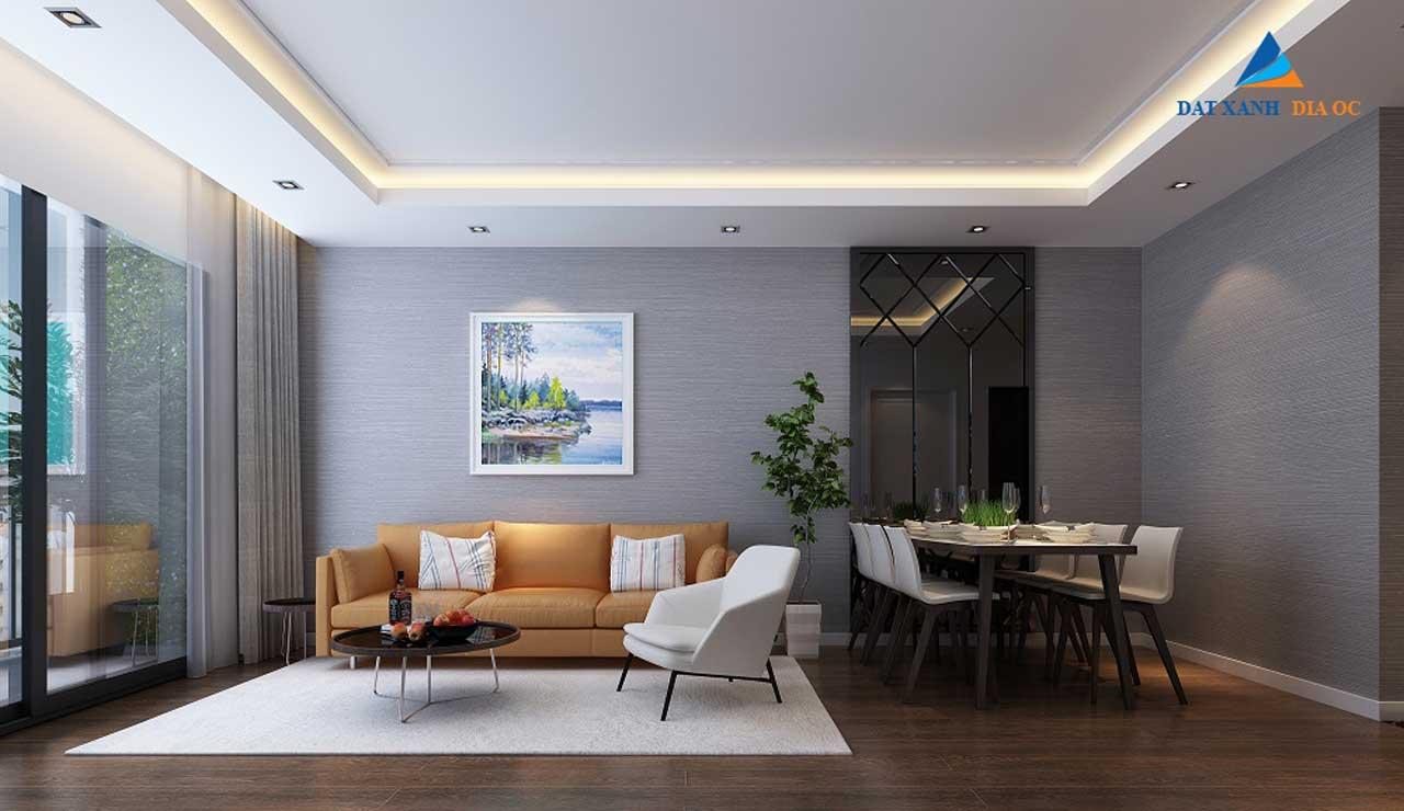Phòng khách dự án Eco Smart City Long Biên