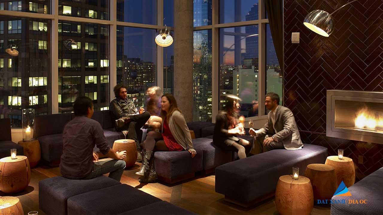 Sảnh Lounge Tiếp khách tại dự án
