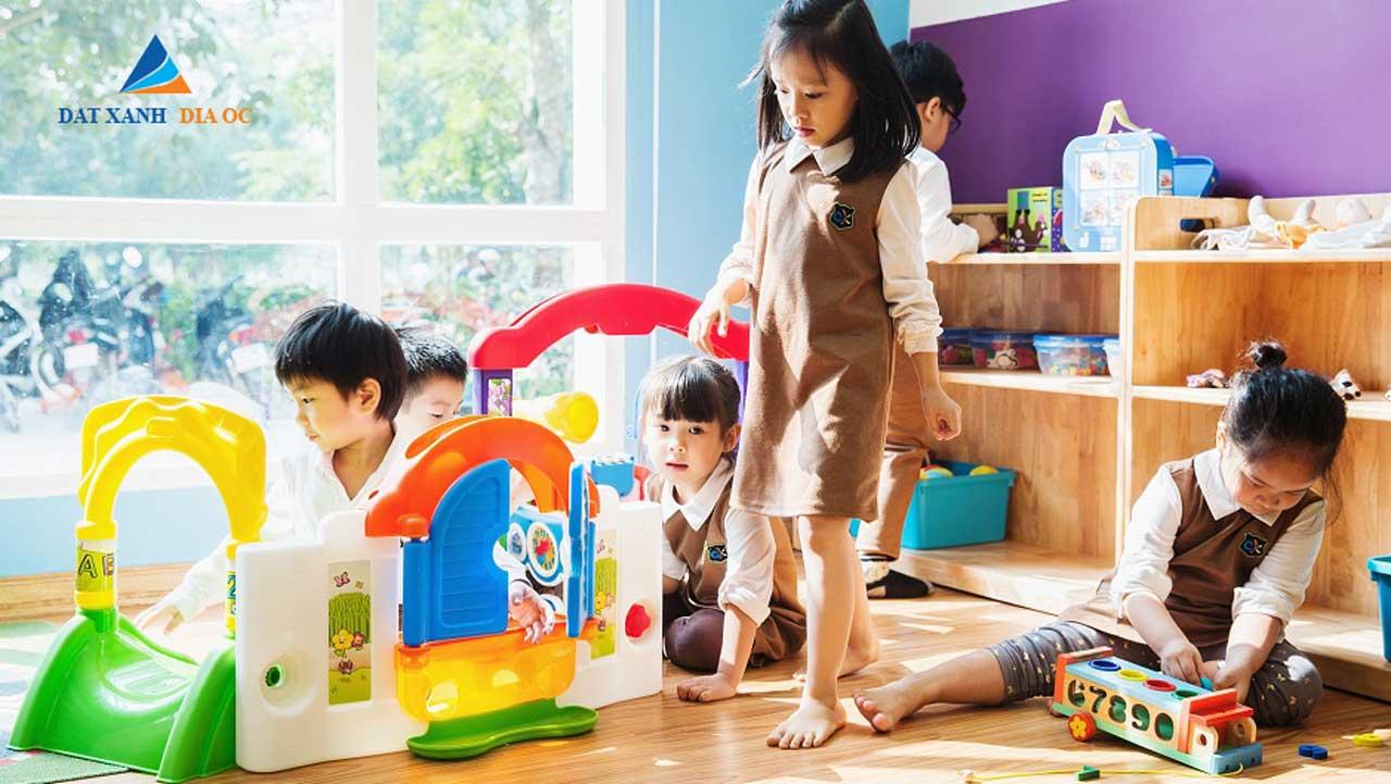 Tiện ích nhà trẻ - khu  vui  chơi trẻ em