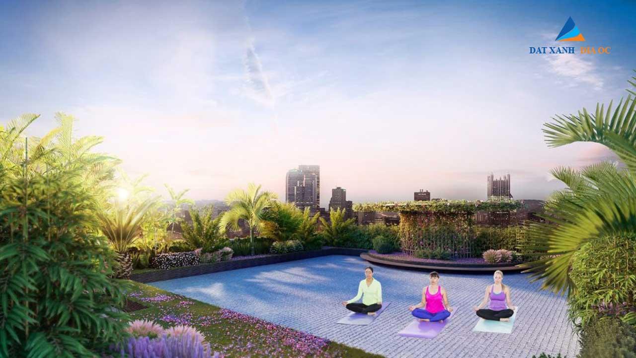 Tiện ích vường thiền Yoga tầng thượng