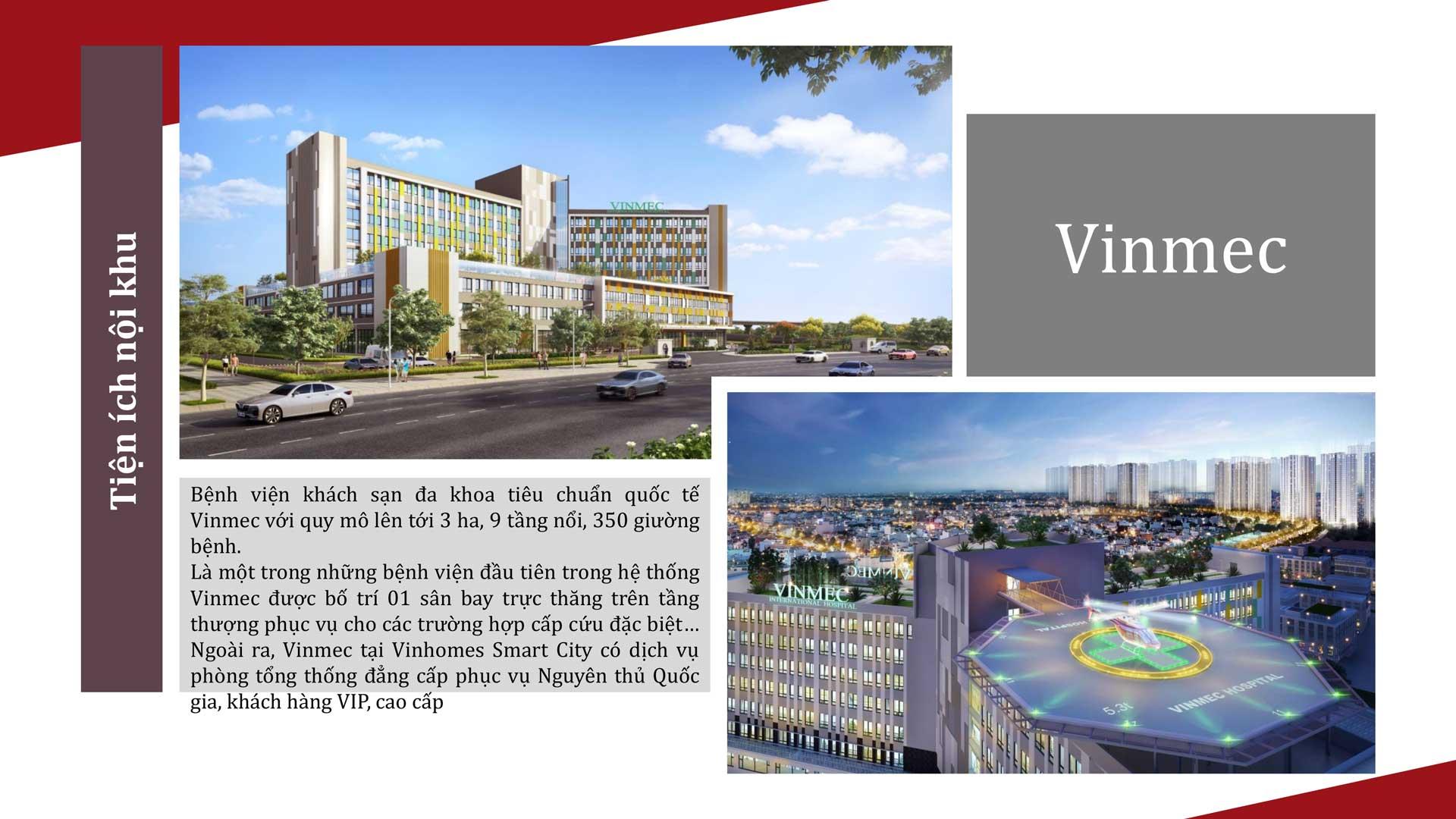 Bệnh viện quốc tế Vinmec -Cho thuê Căn hộ Vinhomes Ocean Park Hotline 0902720139