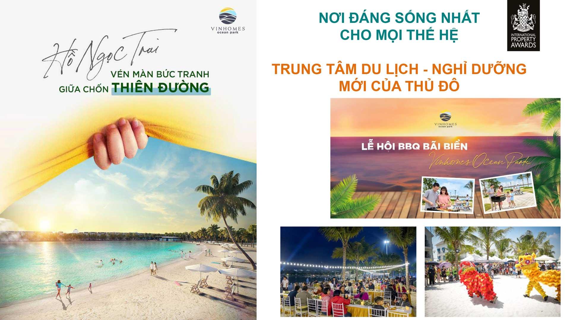Tiện ích dự án Cho thuê Vinhomes Ocean Park