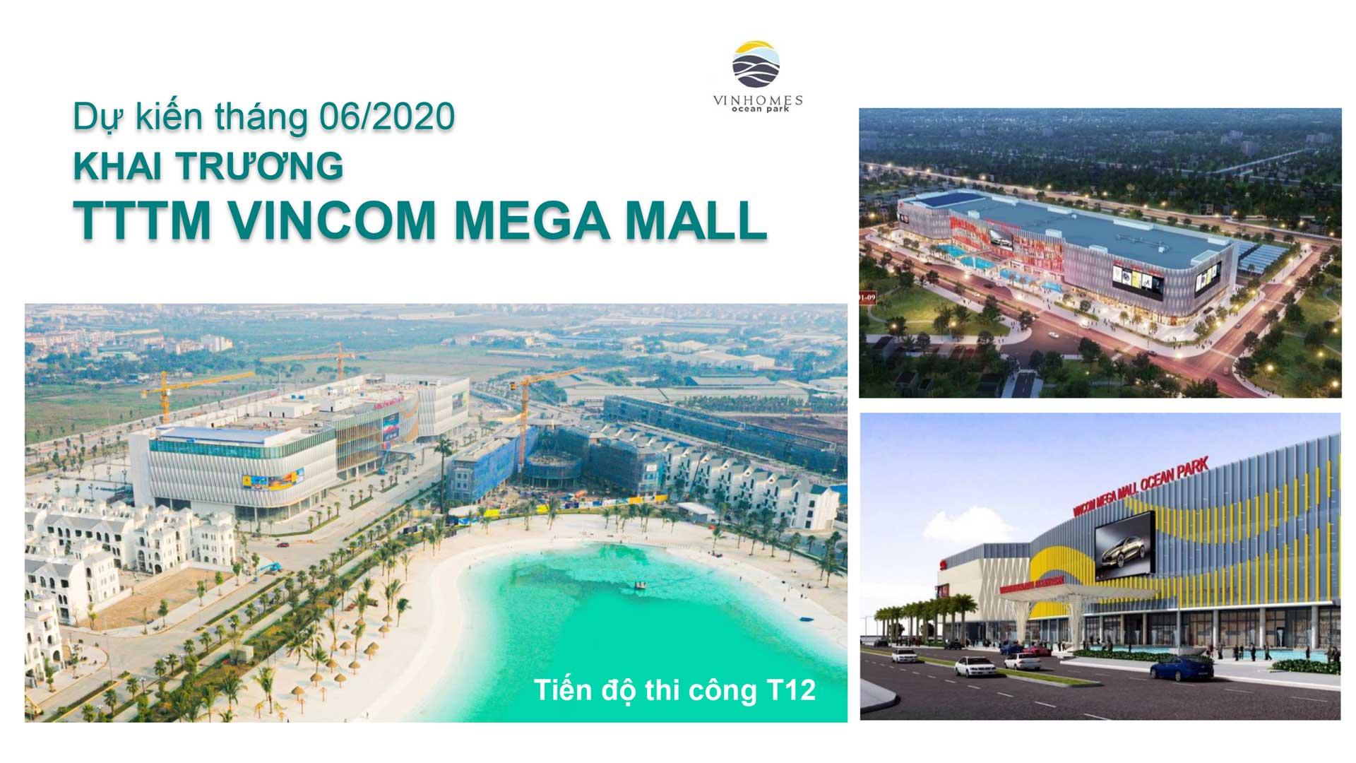 Trung tâm thương mại Vincom Mega mall tại dự án