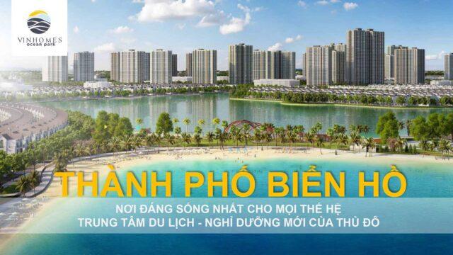 Vinhomes Ocean Park Gia Lâm - Thành Phố Biển Hồ
