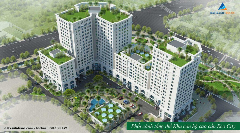 Phối cảnh dự án Eco City Việt Hưng- View trong