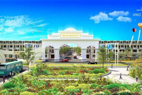 Phối cảnh dự án Tiền Hải Center City Thái Bình - Hình 02