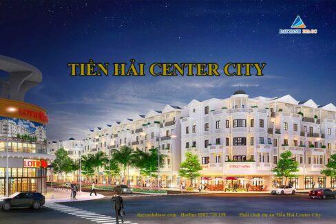 Phối cảnh dự án Tiền Hải Center City Thái Bình