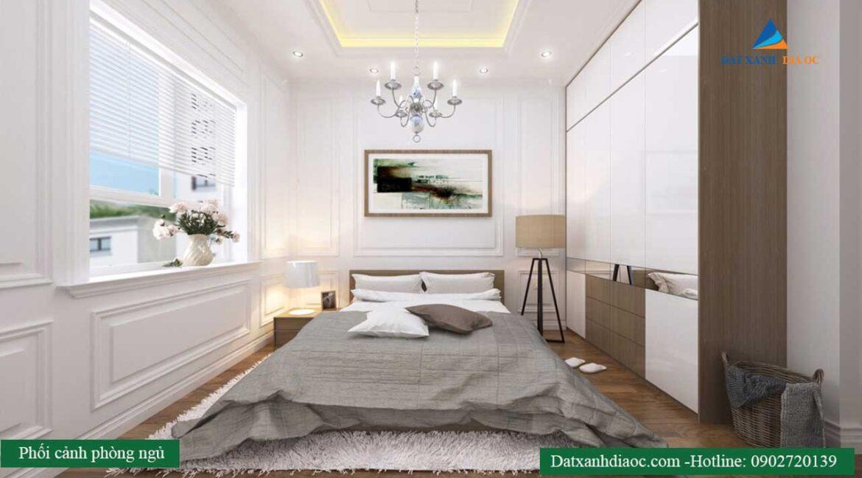 Nhà mẫu dự án - Phòng ngủ