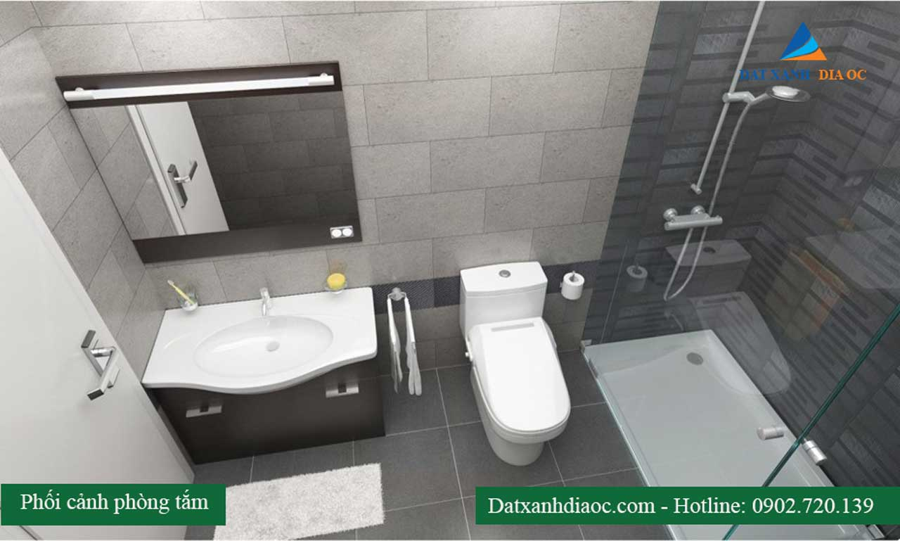 phòng tắm - dự án Eco City Việt Hưng Long Biên