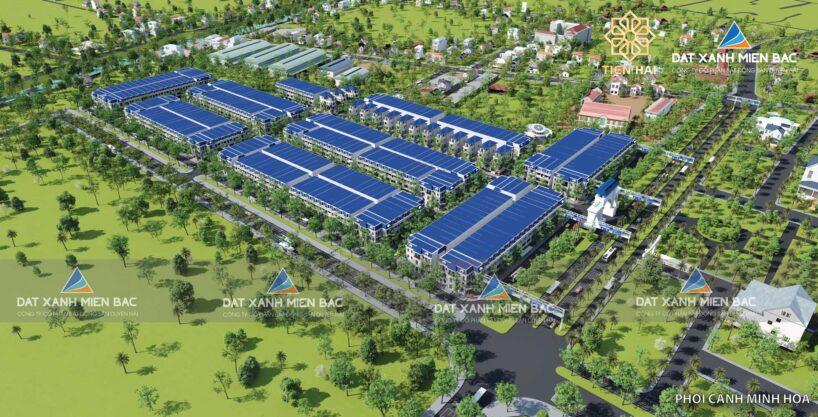 Phối cảnh tổng thể dự án Tiền Hải Center City