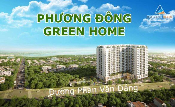 Phối cảnh dự án Phương Đông Green Home